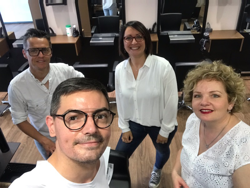 Equipe coiffeur Aigrefeuille sur Maine